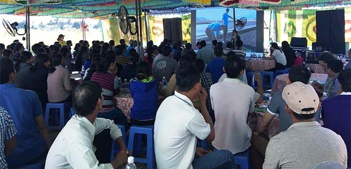 hội thảo phân bón ong biển tại tỉnh bình thuận